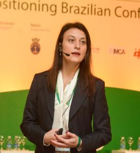 Regina Bindao, Diretora de Acreditação do Instituto Náutico de Londres - palestrante.