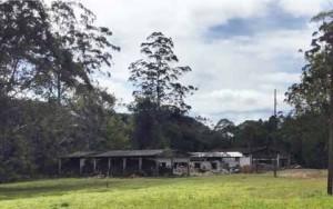 A casa existente na propriedade está sendo restaurada e terá suas características originais preservadas.