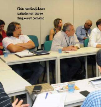 Várias reuniões já foram realizadas sem que se chegue a um consenso