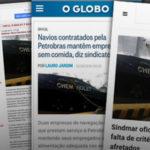 Mídia repercute irregularidades cometidas por embarcações estrangeiras após denúncia do SINDMAR