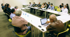 Reunião de negociação do ACT Transpetro