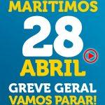 Marítimos decidem participar da greve geral