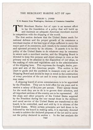 Jones Act